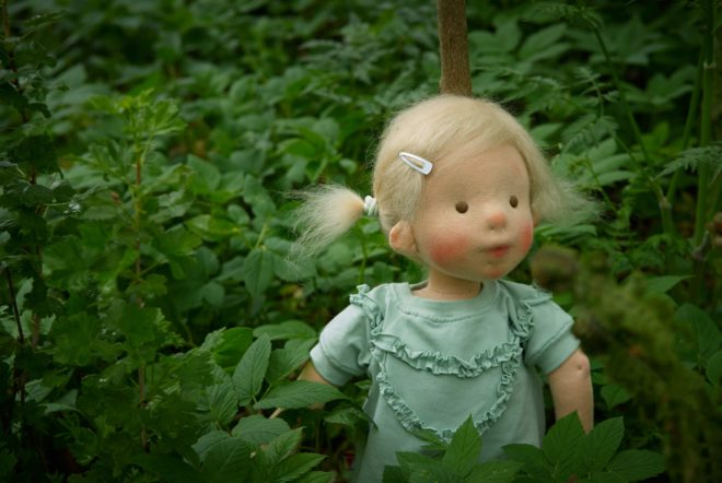 In the forest - a custom doll by Atelier Björkåsa